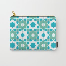 Portuguese Azulejos Carry-All Pouch