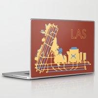 las vegas Laptop & iPad Skins featuring Las Vegas (LAS) - Desert by Kyle Rodgers