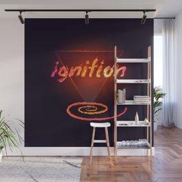 Ignition [dark background] Wall Mural