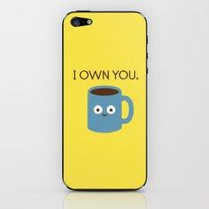 Coffee Talk iPhone & iPod Skin