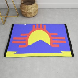 flag of Roswell Rug