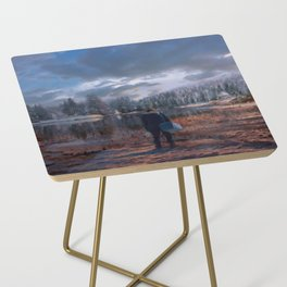 The coming of the dawn Side Table