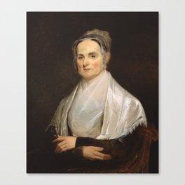 Lucretia Coffin Mott Oil Painting Portrait Canvas Print