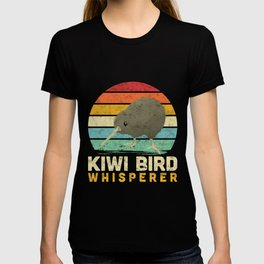 Kiwi Bird Whisperer Ostrich New Zealand saying T-shirt
