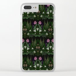 The Poison Garden - Datura Clear iPhone Case