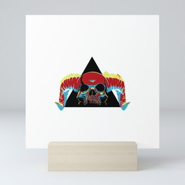 Illuminati Satan - Lucifer Mini Art Print