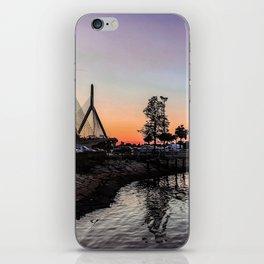 Boston Harbor Sunsets iPhone Skin