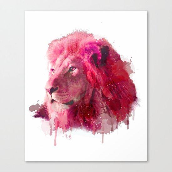 Rose Lion Canvas Print