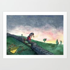 The Apple Prince Art Print