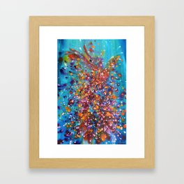 A Dance with Time and Space Framed Art Print