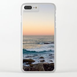 Bronze Glow Clear iPhone Case