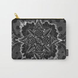 Divine Intention 5: Solar Black & White Carry-All Pouch
