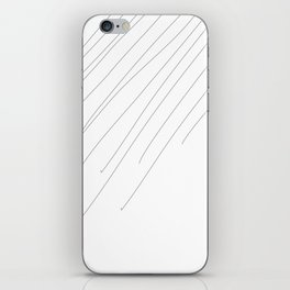 Lines #minimal #abstract iPhone Skin