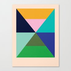 Dhurrie Ocean 2 — Matthew Korbel-Bowers Canvas Print