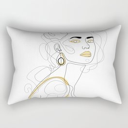 In Lemon Rectangular Pillow