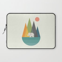 Walk In Peace Laptop Sleeve