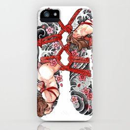 SHIBARI iPhone Case