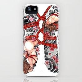 SHIBARI iPhone Case