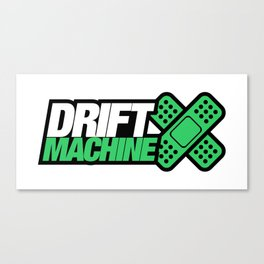 Drift Machine v5 HQvector Canvas Print