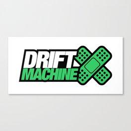 Drift Machine v5 HQvector Canvas Print