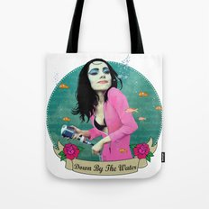 PJ Polly Jean down by the water Tote Bag