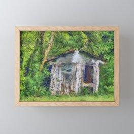 Chicken Coop PhotoArt Framed Mini Art Print