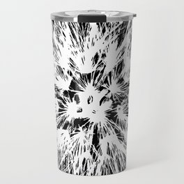 Make A Wish Dandelion Vector In White Travel Mug