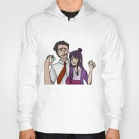 tina fey Hoodies featuring Ace Attorney: Phoenix Wright, Maya Fey by Brizy Eckert