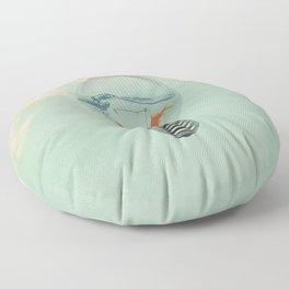Ideas and Goldfish (RM) Floor Pillow