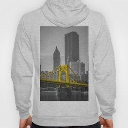 Pittsburgh City Skyline Tall Print Hoody