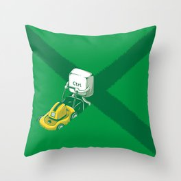 Ctrl-X Throw Pillow