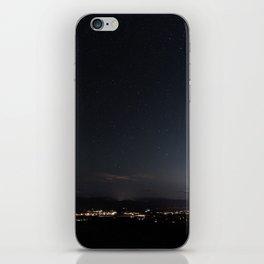 Arizona Desert Night Sky Stars iPhone Skin