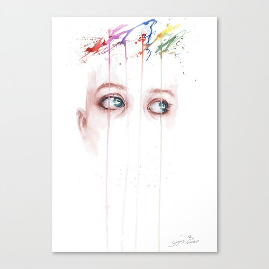 Beautiful mind Canvas Print