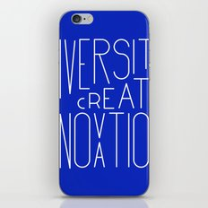 Diversity creates innovation iPhone & iPod Skin
