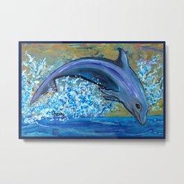 Dolphin 3 Metal Print