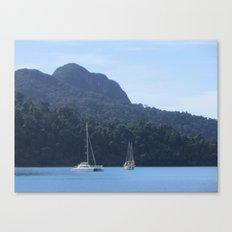 Sailing Songbirds Canvas Print