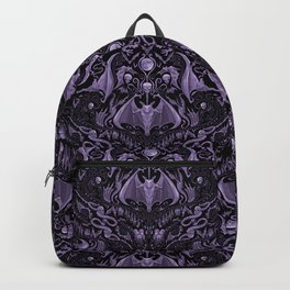 Bats and Beasts - ROYAL PURPLE Backpack