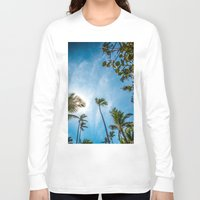 palm Long Sleeve T-shirts featuring PALM by Ines Menacho