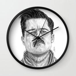 Aldo Raine Portrait Wall Clock