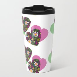Romantic  pattern # G12 Travel Mug
