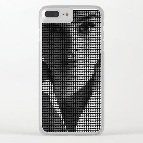 Hepburn Clear iPhone Case