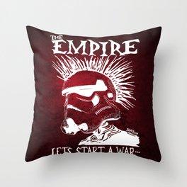 Sithfits - Let's Start A War... Throw Pillow