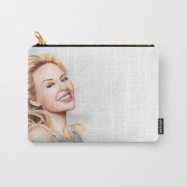 Kylie Minogue Blonde Portrait Carry-All Pouch