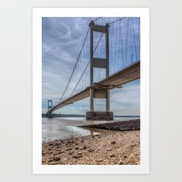 The Severn Bridge Art Print