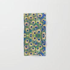 Peacock Freathers Hand & Bath Towel