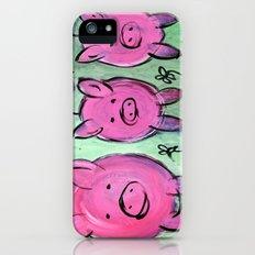 Mama pig iPhone (5, 5s) Slim Case