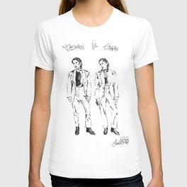 TEGAN AND SARA DOODLE T-shirt