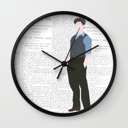 JACK KELLY – NEWSIES Wall Clock
