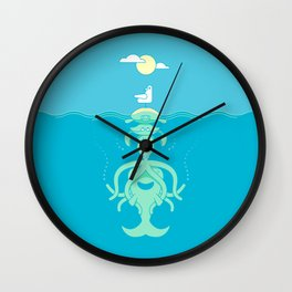 Sea Totem Wall Clock