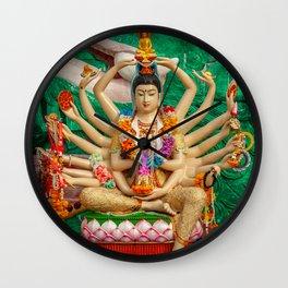Buddhist Goddess Wall Clock